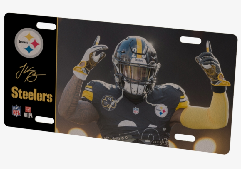 Pittsburgh Steelers Le\'veon Bell Metal Photo.