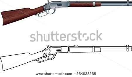 lever action rifle clipart 20 free Cliparts | Download ...