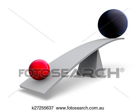 Leverage Stock Illustration.