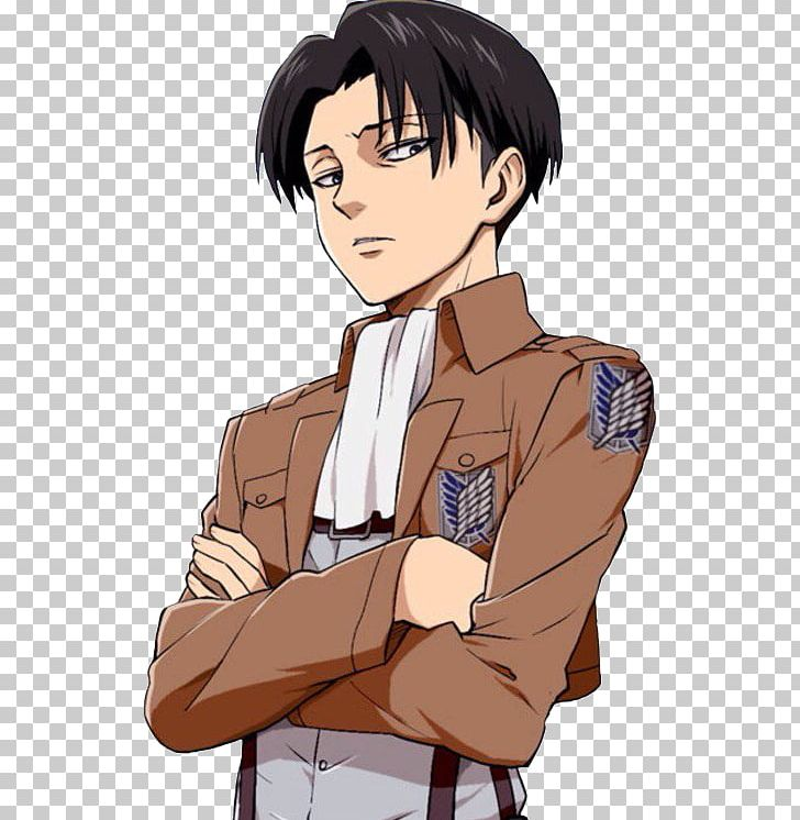 Eren Yeager Mikasa Ackerman Attack On Titan Levi Anime PNG.