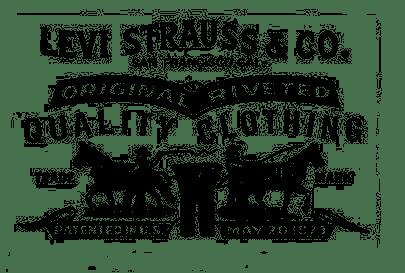 Levi Strauss Logo transparent PNG.