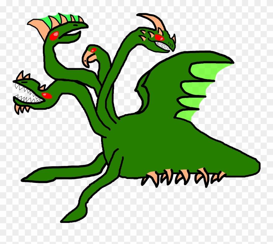Leviathan Hydra Clipart (#3360280).