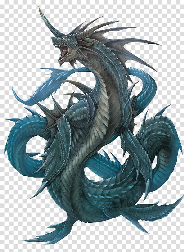 Legendary creature Sea monster Dragon Leviathan, monster.