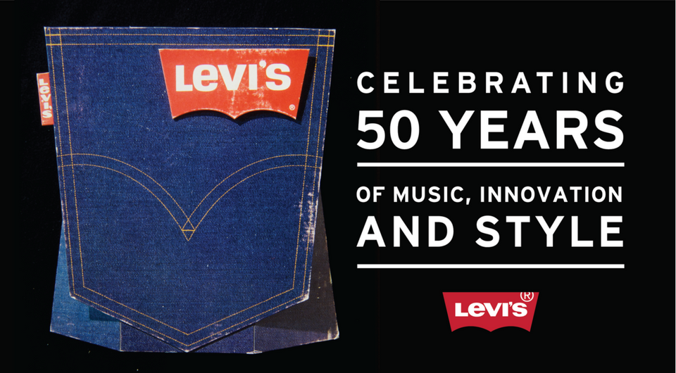 50 years of the Levi\'s® Batwing Logo: 5 Fun Facts.