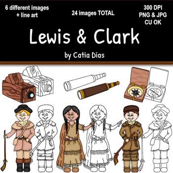 Lewis & Clark Clipart.