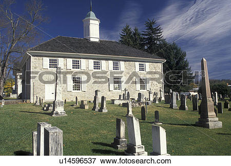 Picture of church, Lewisburg, WV, West Virginia, Old Stone.