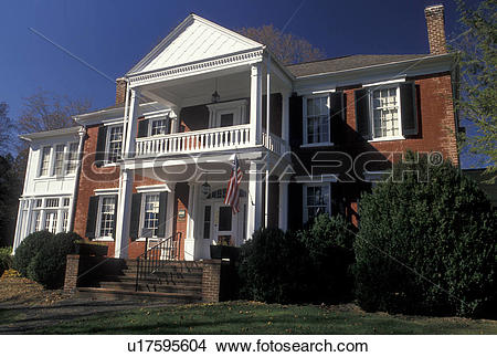 Stock Photo of Lewisburg, WV, West Virginia, John A. North House.