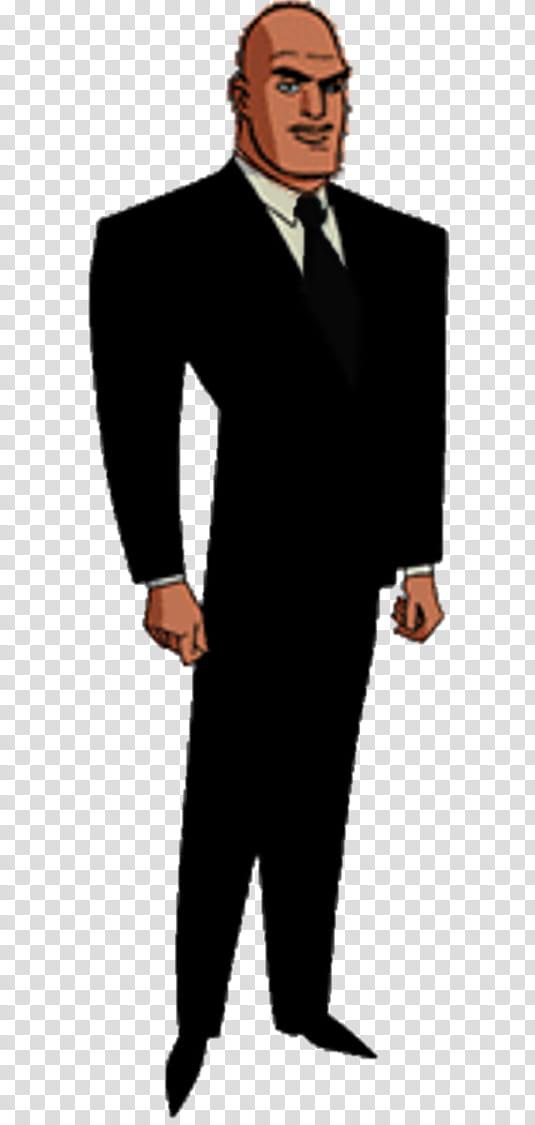 Lex Luthor President DCAU transparent background PNG clipart.