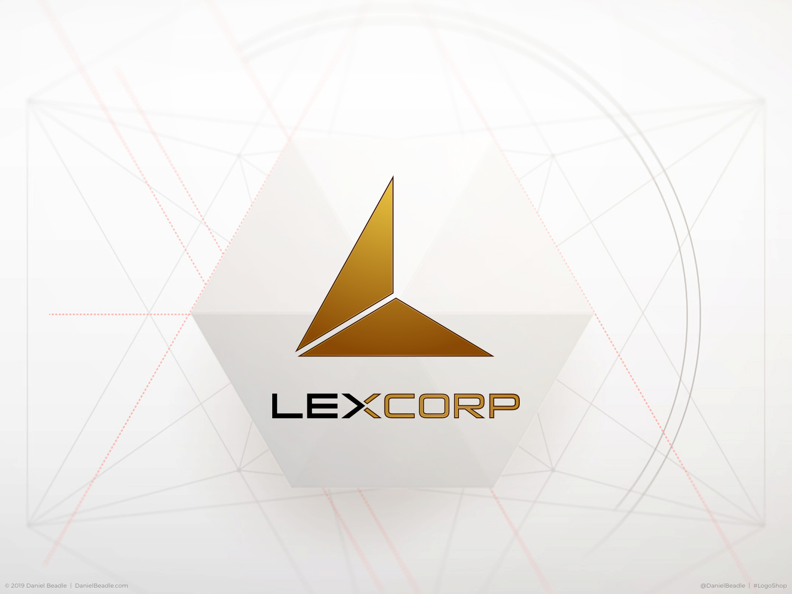 LexCorp Logo by Daniel Beadle on Dribbble.