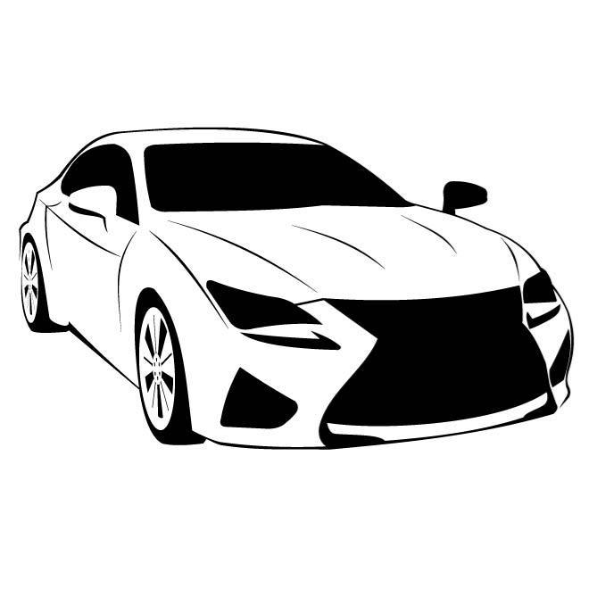 Lexus Car Clipart.
