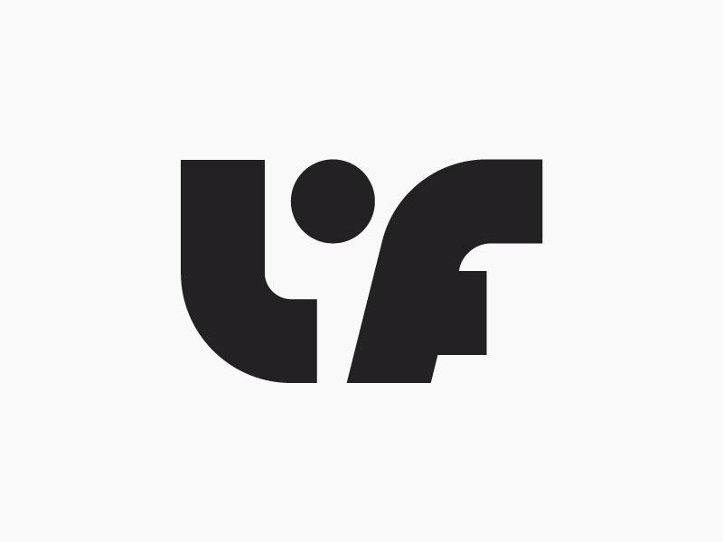 LF logo design.