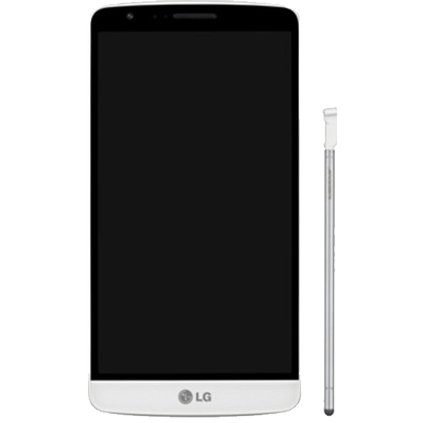 LG G3 Stylus White D690.