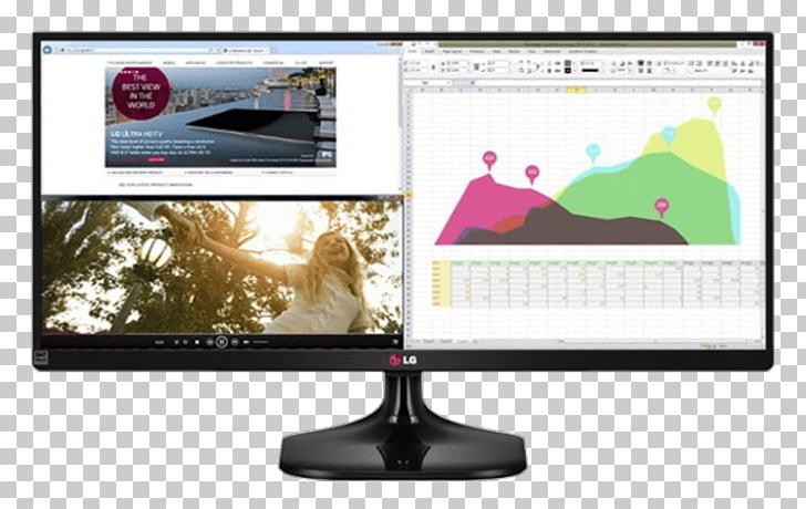 Computer Monitors 21:9 aspect ratio LG UM55 IPS panel, lg.