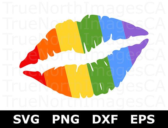 Rainbow SVG File / Pride Svg / LGBT Svg / Gay Pride Svg.