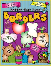 Amazon.com: Borders Clip Art CD.