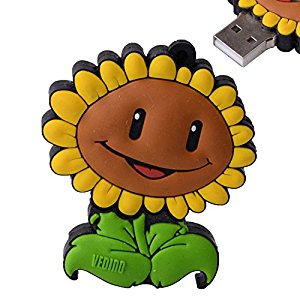 Amazon.com: LHN® 8GB Sunflower USB 2.0 Flash Drive (Green.