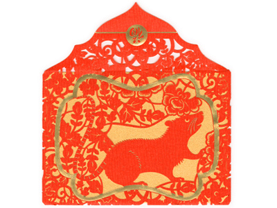 LiXi Gift Envelope / Year of the Rat by Tram Pham on Dribbble.