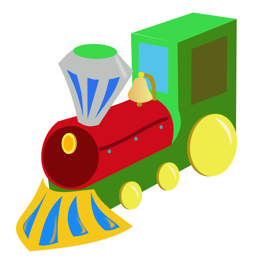 Li Xiaodong Learned to Drive a Train in 10 Days Clipart, vector.
