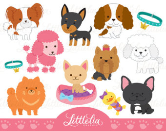 Cute Digital Clipart and DIY printable by LittleLiaGraphic on Etsy.