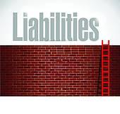 Liabilities Clip Art.