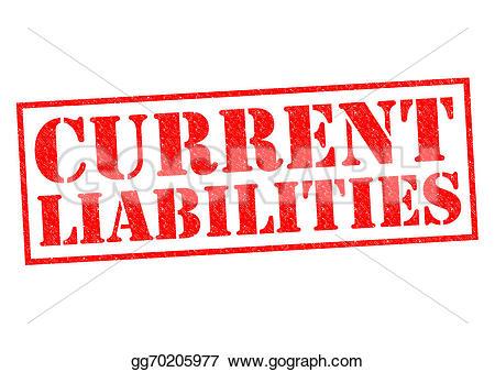 Current Liabilities Clip Art.