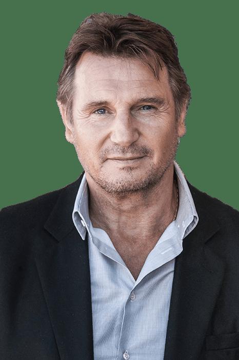 Liam Neeson transparent PNG.