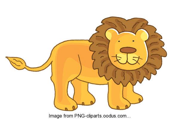 Lion Clipart For Kids.