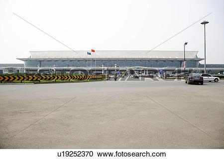 Stock Photography of China, Liaoning Province, Shenyang Airport.