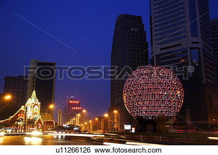 Stock Images of China, Liaoning Province, Dalian, Friendship.