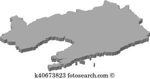 Liaoning contour Clip Art Vector Graphics. 7 liaoning contour EPS.