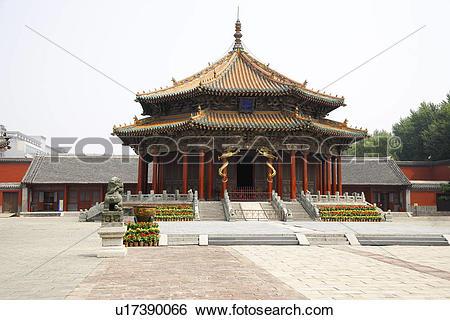 Stock Images of China, Liaoning Province, Shenyang, ornate.