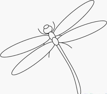 Ausmalbilder von Libelle ausdrucken Malvorlagen kostenlos.