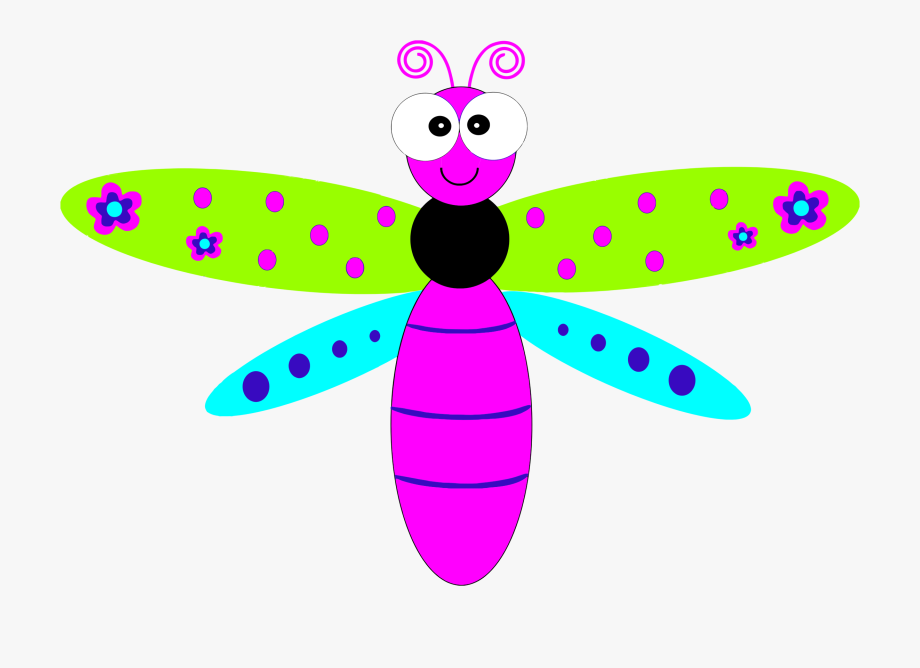 Dragonfly Clipart Jungle.