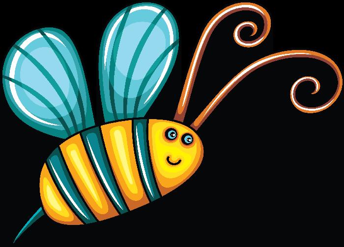 Mariposas y libélulas.