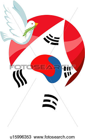 Clipart of anniversary, peace, memorial day, liberation day.