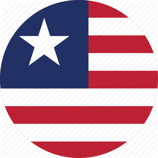 Circle Circular Country Flag Flag Of Liberia Flags Liberia #3EKFj3.