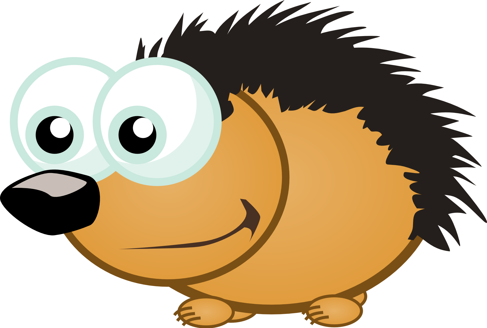 clipartist.net » Clip Art » Libertarian Porcupine 8 clipartist.net SVG.