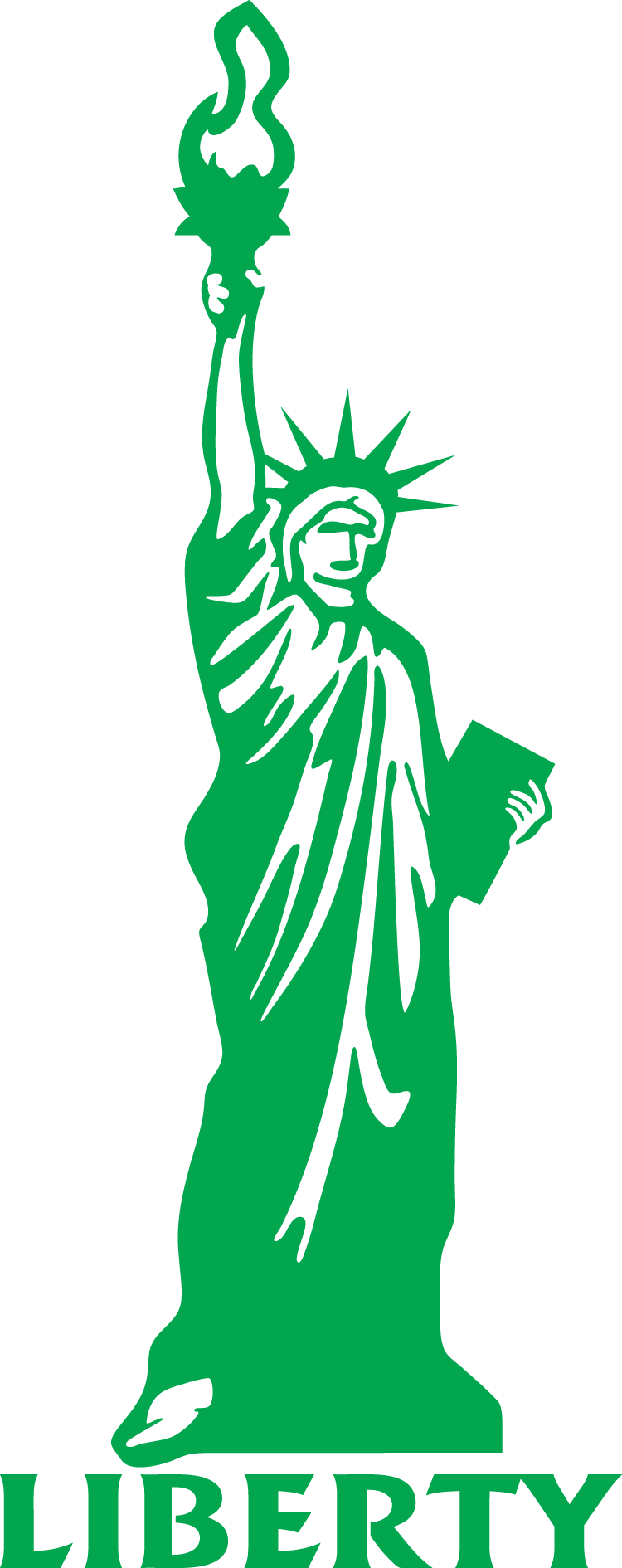 Statue Of Liberty Drawing Outline.