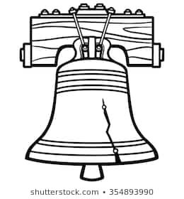 Liberty bell clipart black and white » Clipart Portal.