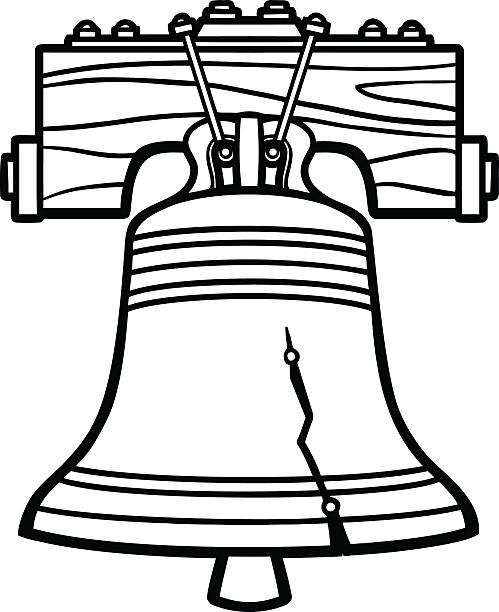 Best Liberty Bell Philadelphia Illustrations, Royalty.