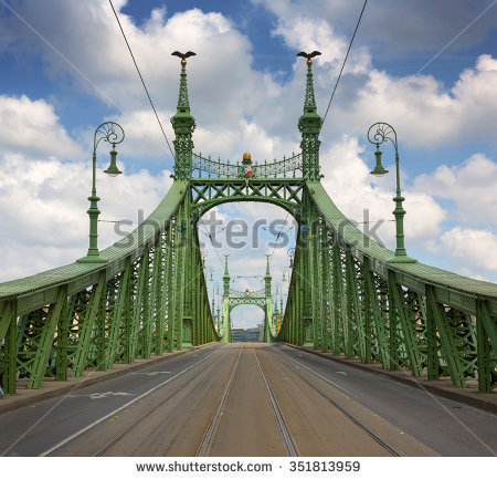 Liberty Bridge Stock Photos, Royalty.