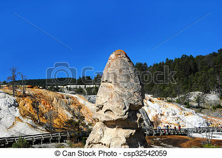 Stock Images of Liberty Cap at Mammoth.