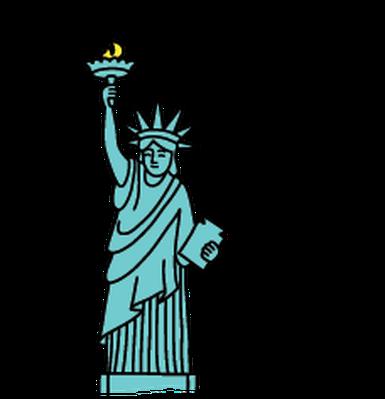 Statue of liberty clip art clipart 2.