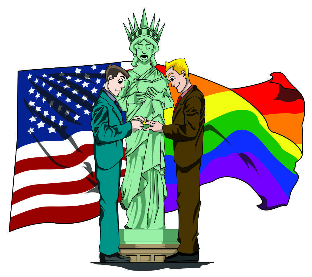 The Oak Leaf : Yearning To Marry Free: Liberty and Justice for All.