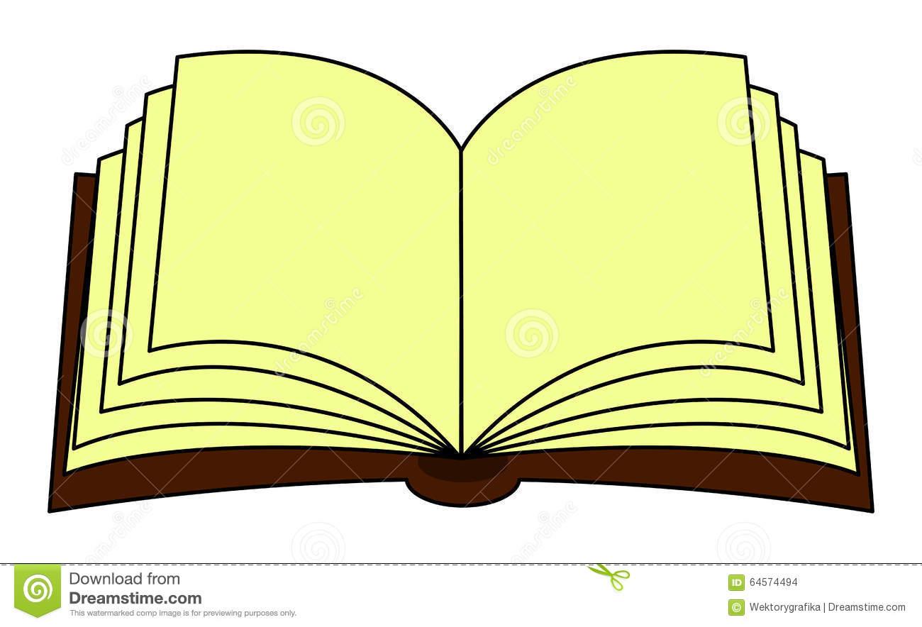 Libro abierto clipart.