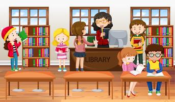 Library Free Vector Art.