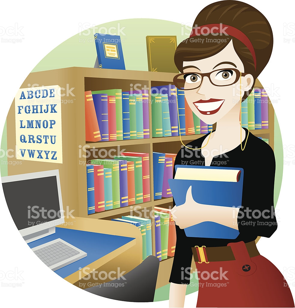 Librarian clipart 5 » Clipart Station.