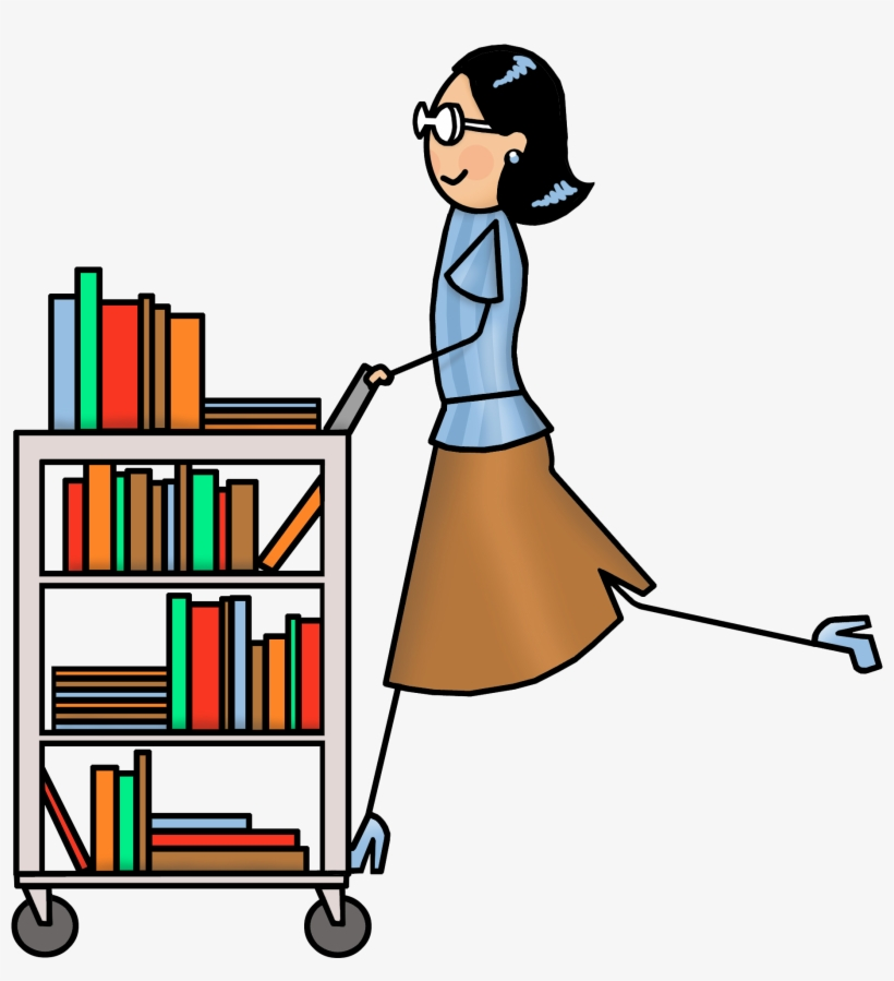 Clipart Library Librarian.