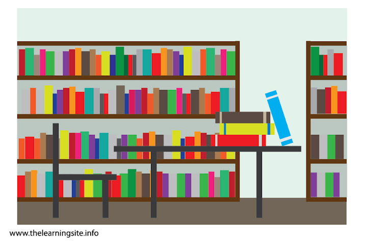 Libraries Clip Art.
