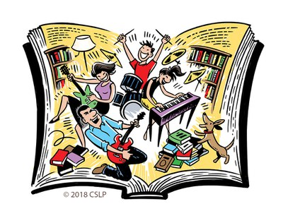 Libraries rock clipart 2 » Clipart Station.